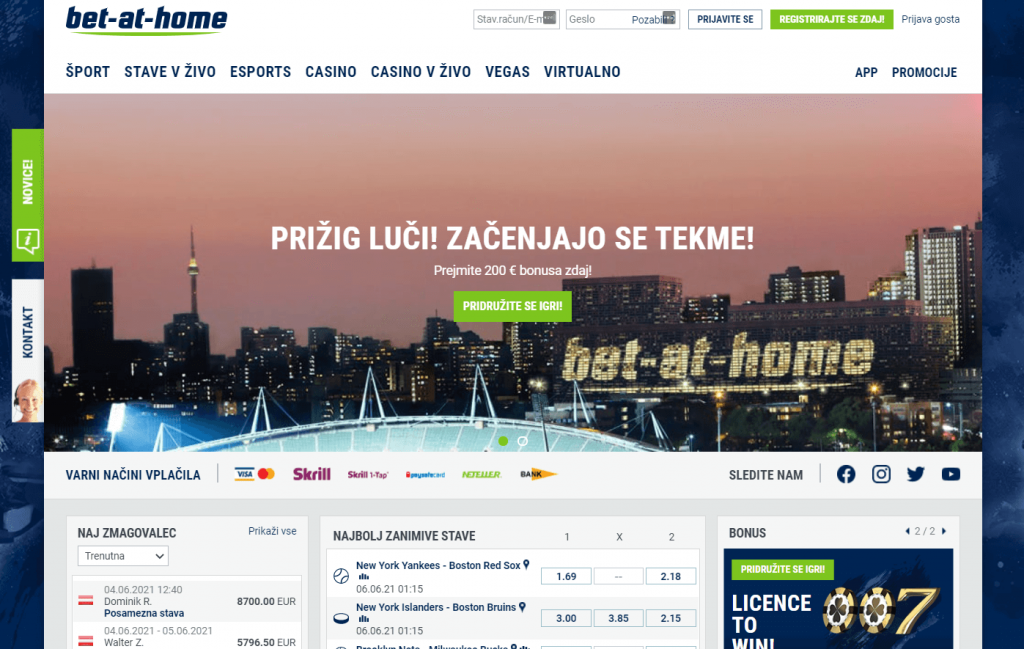 bet-at-home slovenija
